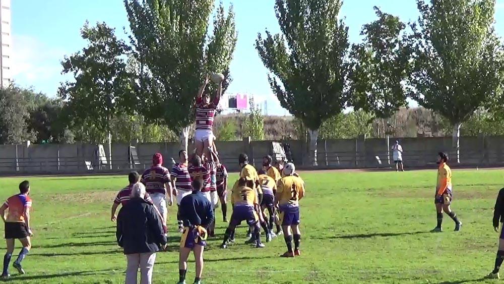 El Sanitas Alcobendas Rugby D se impone al URO Alcorcón A