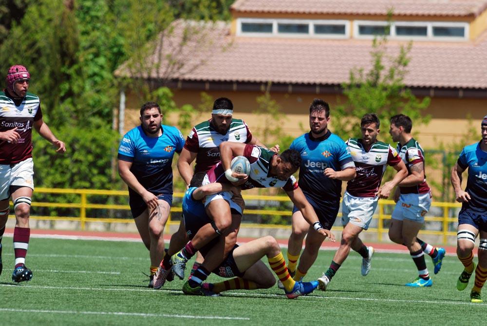 Sanitas Alcobendas Rugby a semifinales